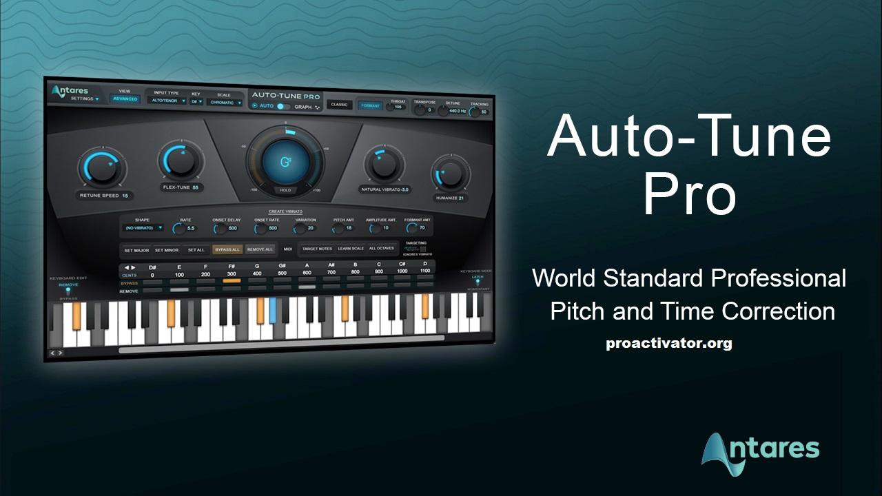Antares AutoTune Pro 9.2.1 Crack + Serial Key Free Download [2022]