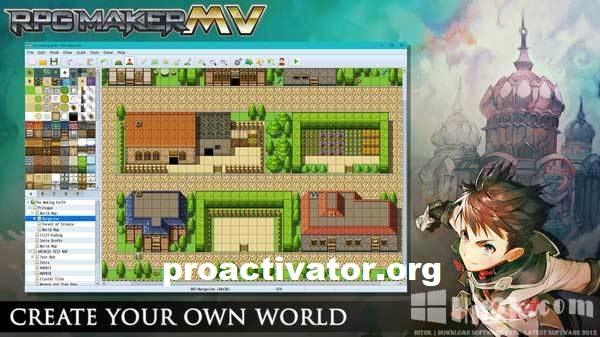 RPG Maker MV 1.6.2 Crack + DLC Pack 2021 Full Version Download [Latest]