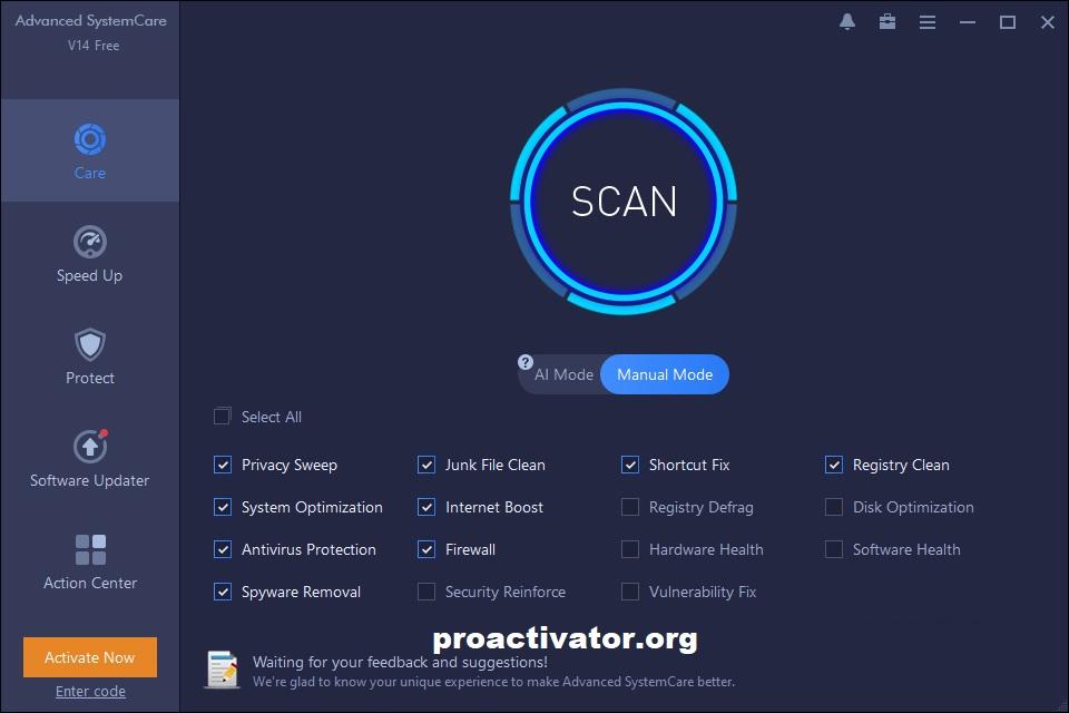 Advanced SystemCare Pro 14.4.0.277 Crack + License Key Full 2021